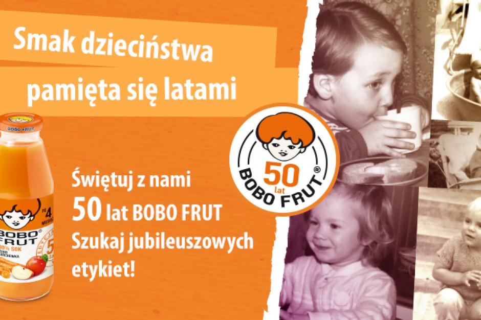 Marka Bobo Frut kończy 50 lat