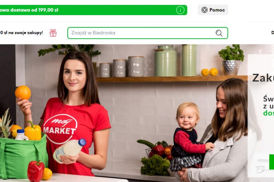 Platforma Mój Market z usługą zamawiania zakupów z dyskontów