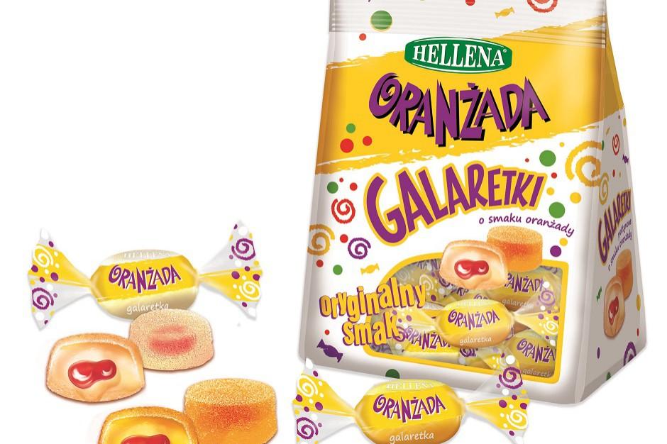 Colian wprowadza Galaretki nadziewane Hellena o smaku oranżady
