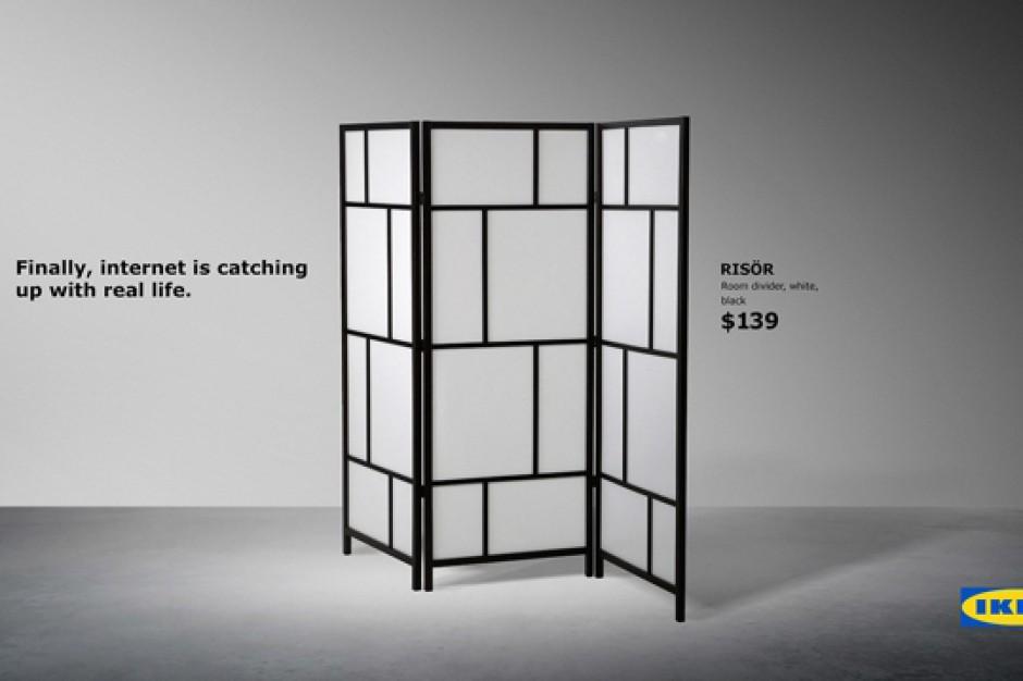 IKEA promuje parawany przy okazji wprowadzenia RODO