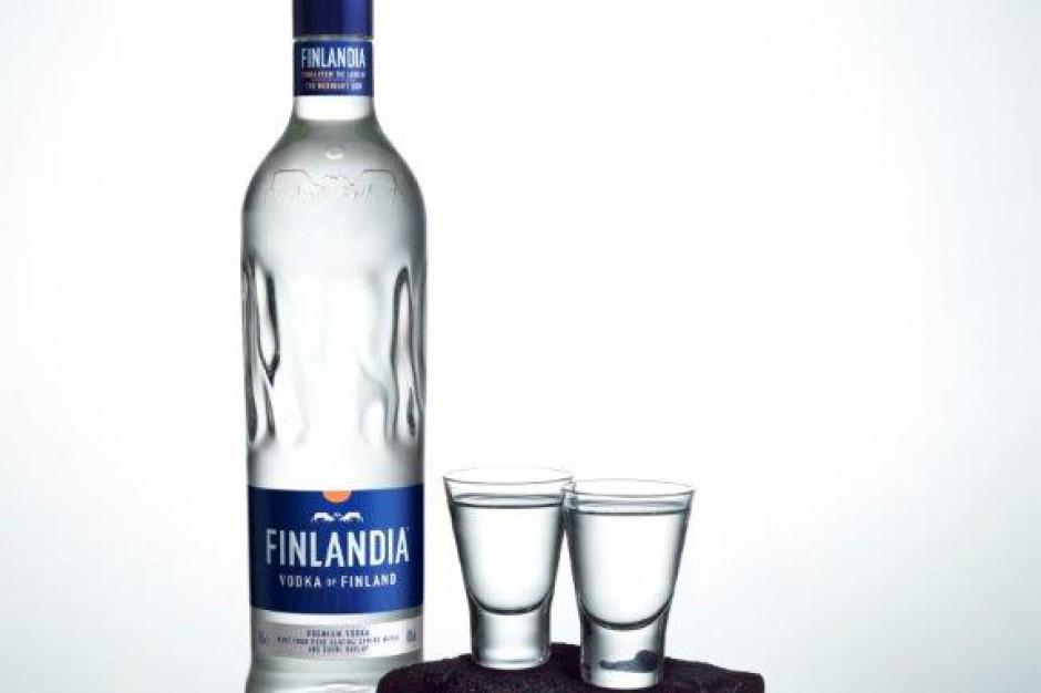 Wódka Finlandia nowej butelce