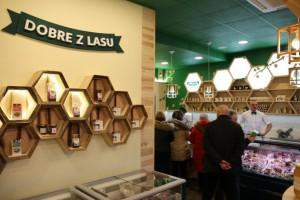 Lasy Państwowe rezygnują z rozwoju sieci sklepów