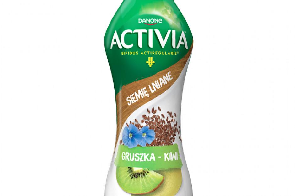 Nowości w portfolio Activii – jogurty do picia z siemieniem lnianym