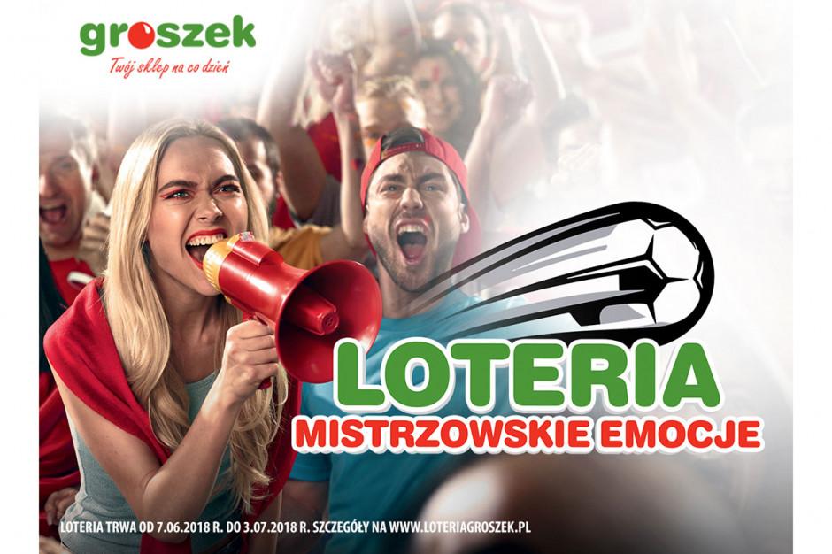 Start loterii Mistrzowskie emocje w sklepach Groszek!