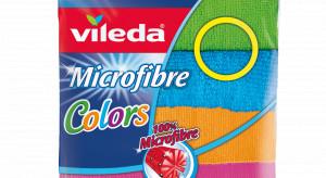 Kolorowe ściereczki Microfibre Colors marki Vileda