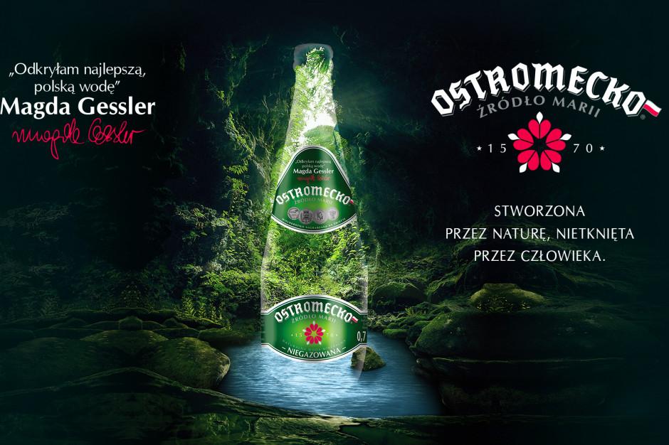 Magda Gessler ambasadorką wody mineralnej Ostromecko