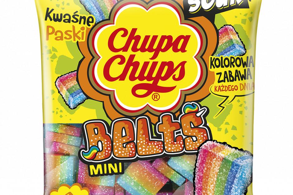 Kwaśne mini żelki od Chupa Chups