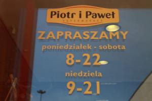 Innowacyjny system dokonywania zakupów na początek w 6. sklepach Piotra i Pawła