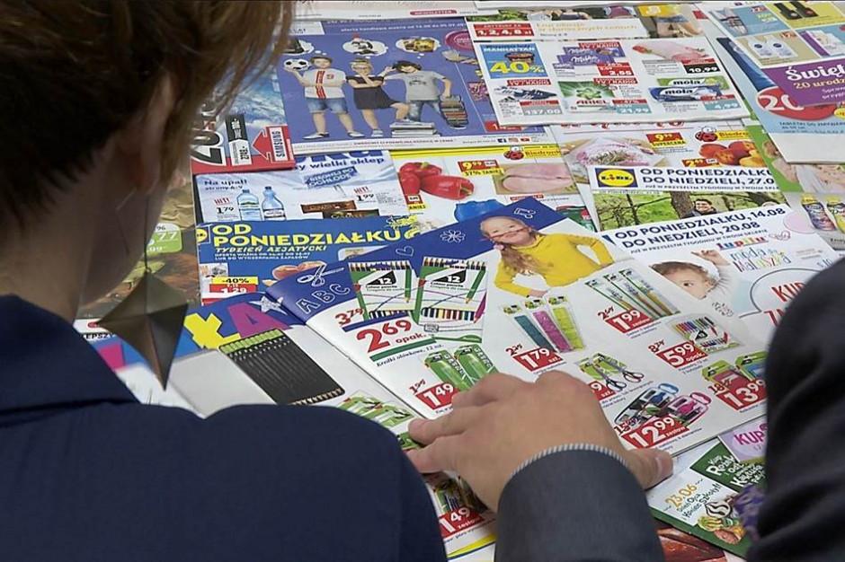 Sieci handlowe szybko naprawiają błędy w gazetkach promocyjnych