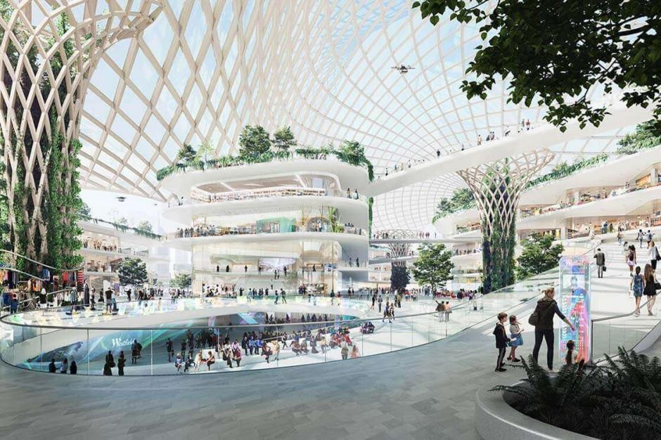Centra handlowe przyszłości jak mini miasta