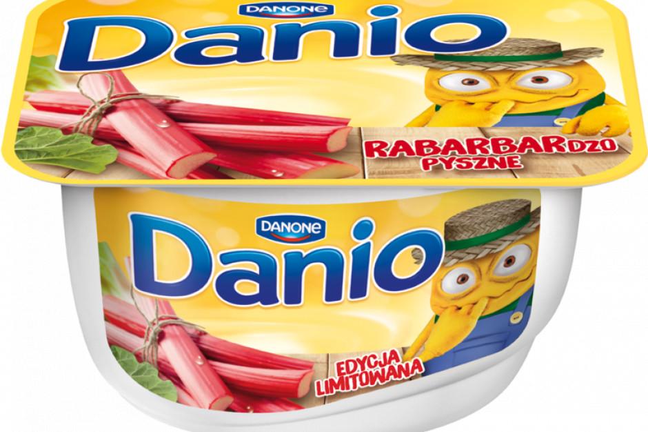Smaki rabarbaru i porzeczek w limitowanej edycji Danio