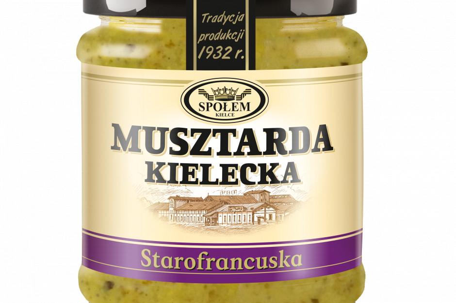 Nowość na półce WSP Społem – Musztarda Kielecka starofrancuska