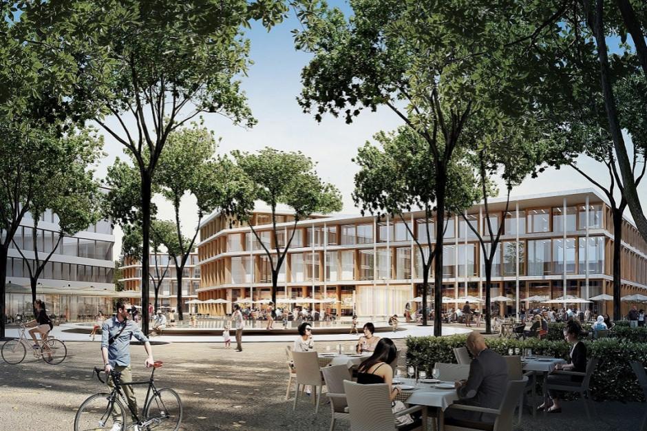 GTC planuje budowę Zielonych Tarasów Wilanów zamiast Galerii Wilanów