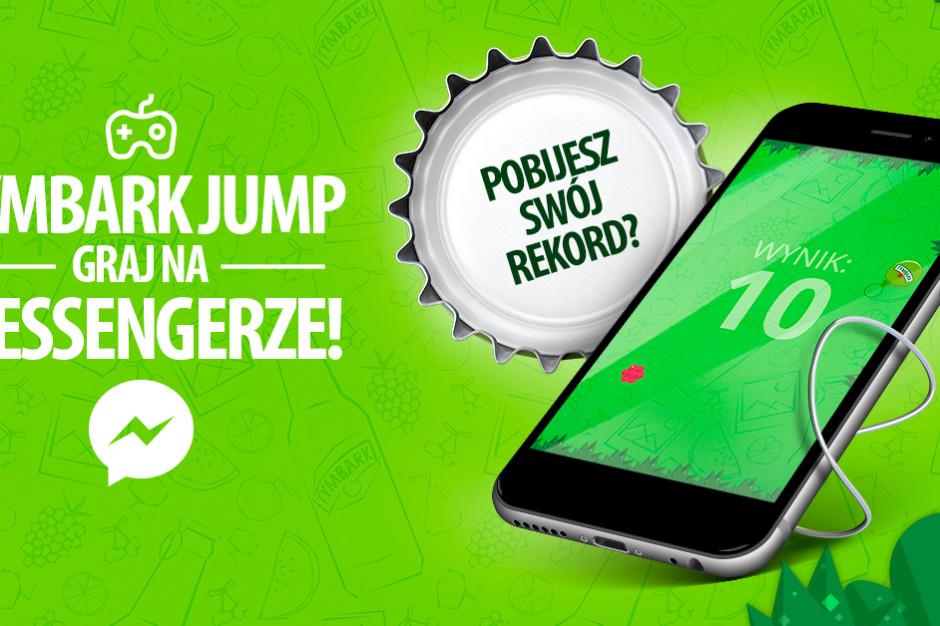 Tymbark Jump - nowa gra dostępna na Messengerze
