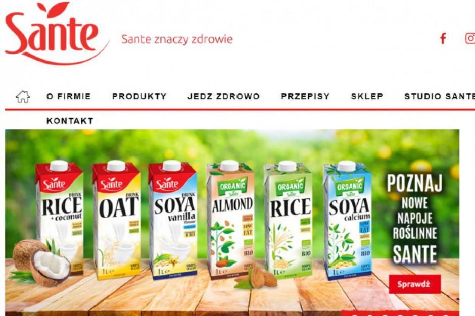 Sante poszerza ofertę napojów roślinnych