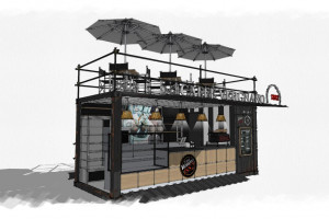 1882 Street Coffee - pierwszy w Polsce i na świecie kontenerowy projekt Caffè...