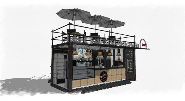 1882 Street Coffee - pierwszy w Polsce i na świecie kontenerowy projekt Caffè Vergnano