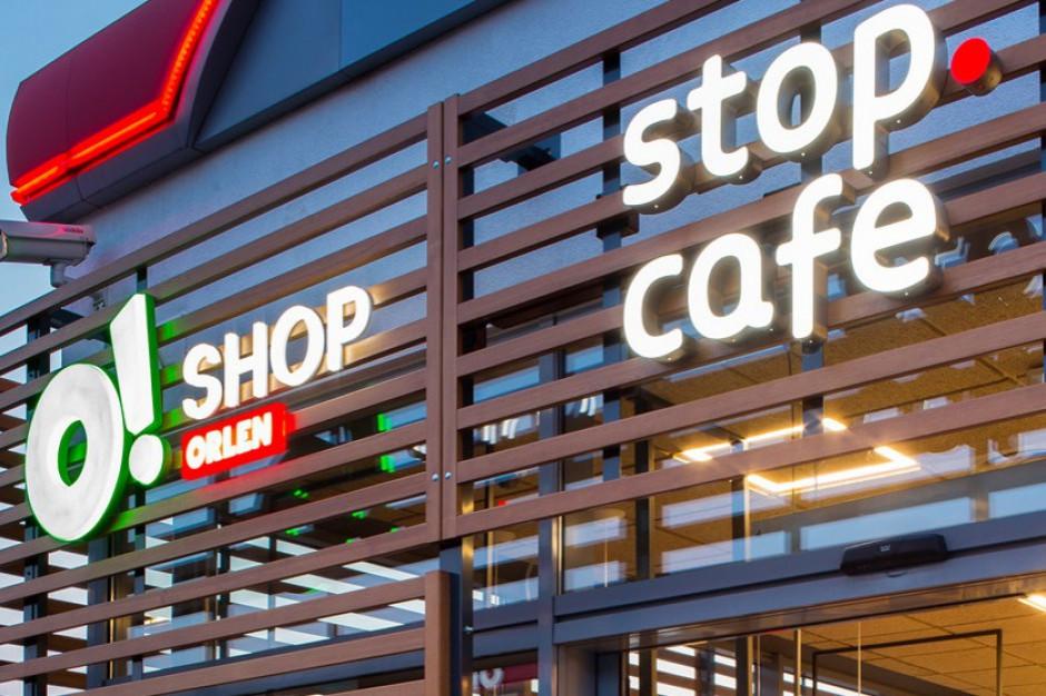 PKN Orlen ma w Polsce 1621 punktów Stop Cafe, w tym 31 sklepów convenience O!SHOP