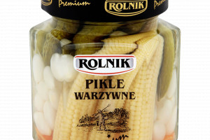 Pikle warzywne Premium od marki Rolnik