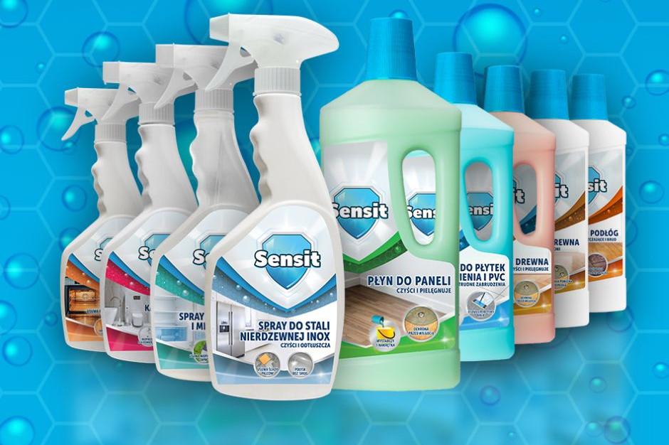 Właściciel marki Helios wprowadza na rynek Sensit, brand środków chemicznych