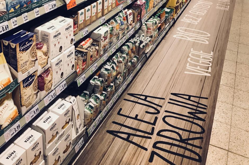 """Kaufland wprowadza w swoich sklepach """"Aleje zdrowia"""""""
