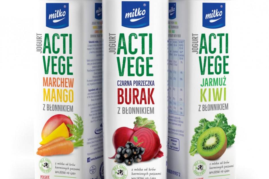 Acti Vege – nowa linia owocowo-warzywnych jogurtów marki Milko od Mlekpolu