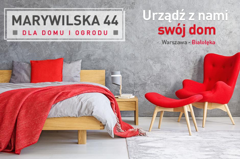 Nowe logo parku handlowego MARYWILSKA 44