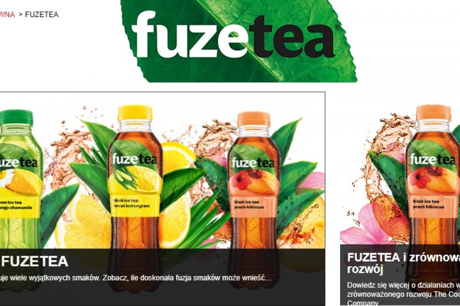 Kurdej-Szatan i Drzewiecka w reklamach Fuzetea