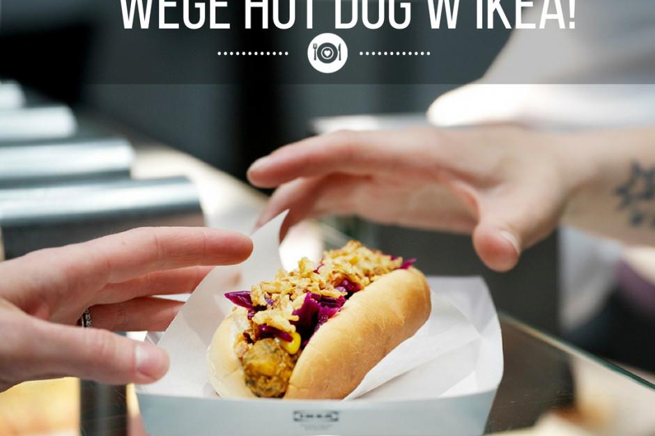 IKEA zaczyna sprzedawać wegetariańskie hot-dogi
