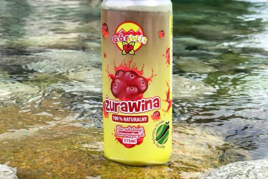 GórWit - sok żurawinowy w puszce