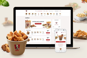 KFC upraszcza proces zamawiania dań