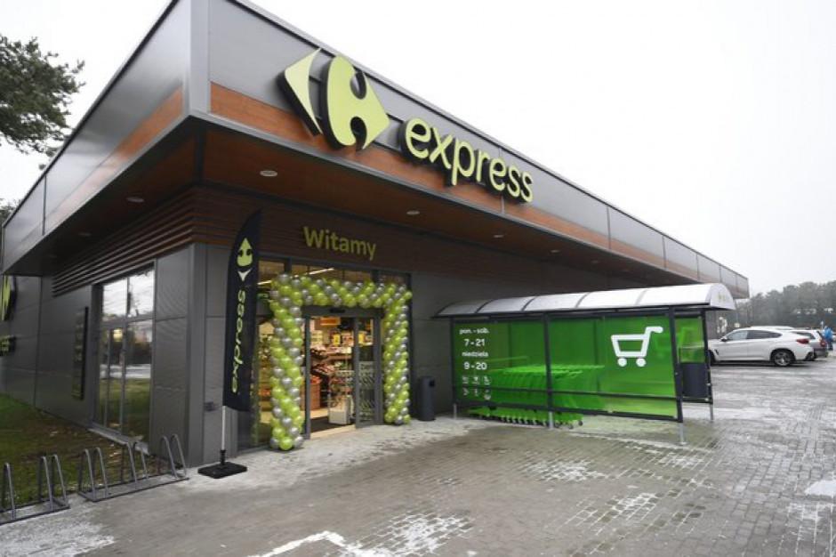 W pół roku sieć Carrefour Express mniejsza o 66 placówek