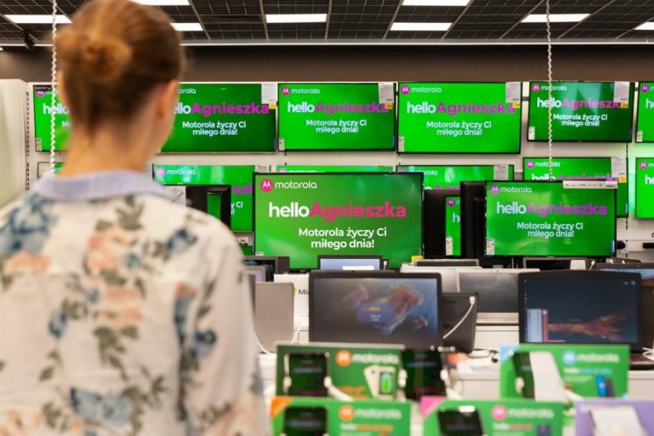 Ponad 1000 spersonalizowanych pozdrowień na ekranach reklamowych w Euro RTV AGD