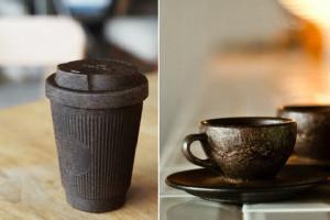 Niemiecki start-up produkuje kubki z kawowych fusów