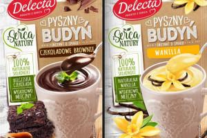 """Delecta wprowadza """"Pyszne budynie"""" w czterech nowych smakach"""