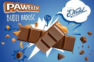 E.Wedel rozpoczyna kampanię batonów Pawełek