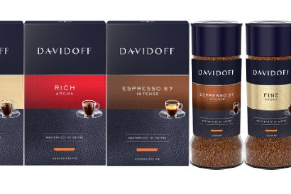 Kawy Davidoff mają nowe opakowania