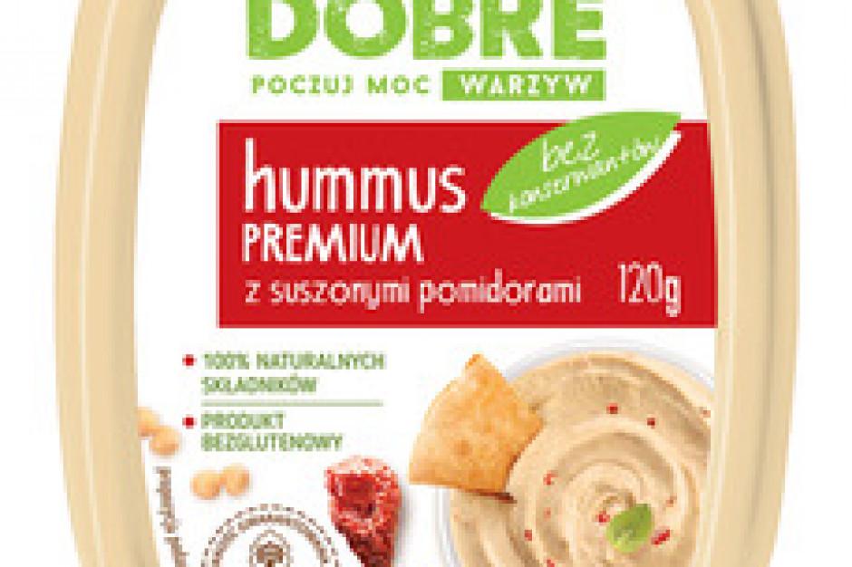 Sokołów wprowadza linię hummusów