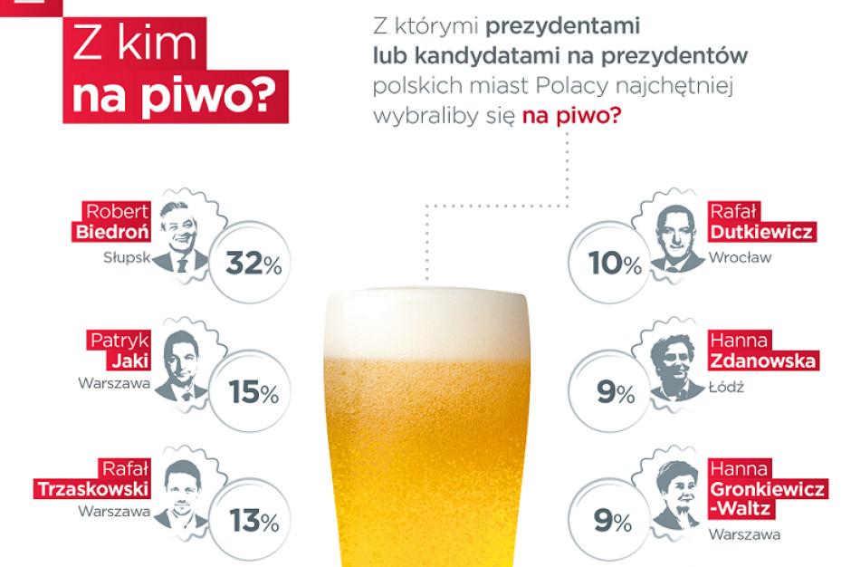 Grupa Żywiec sprawdziła, z którym prezydentem chcemy iść na piwo