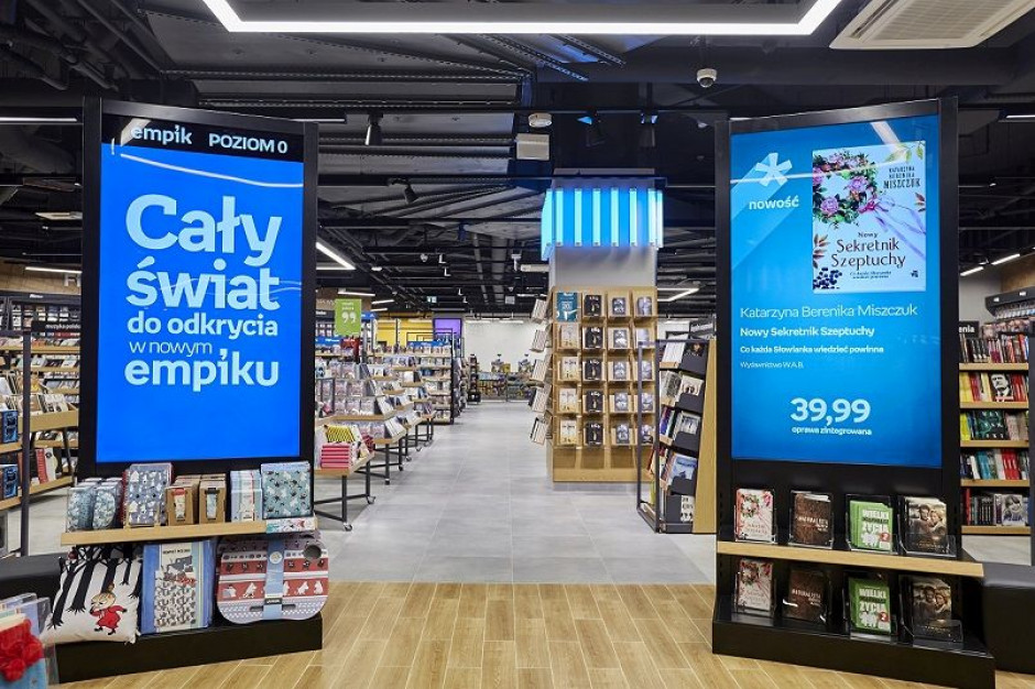 Future Store sieci Empik w Złotych Tarasach z innowacyjnymi rozwiązaniami