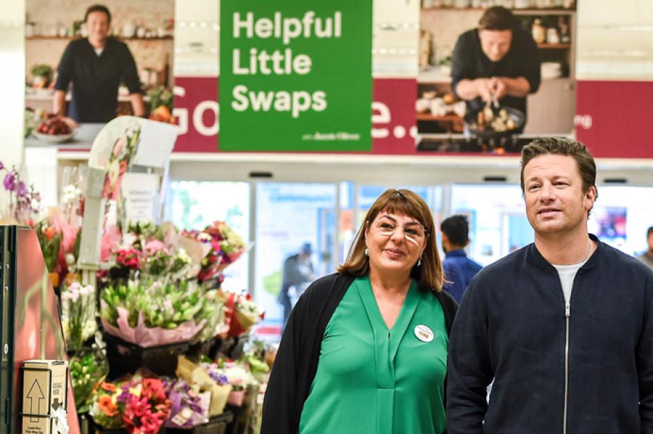 Jamie Oliver promuje w Tesco zdrowy tryb życia