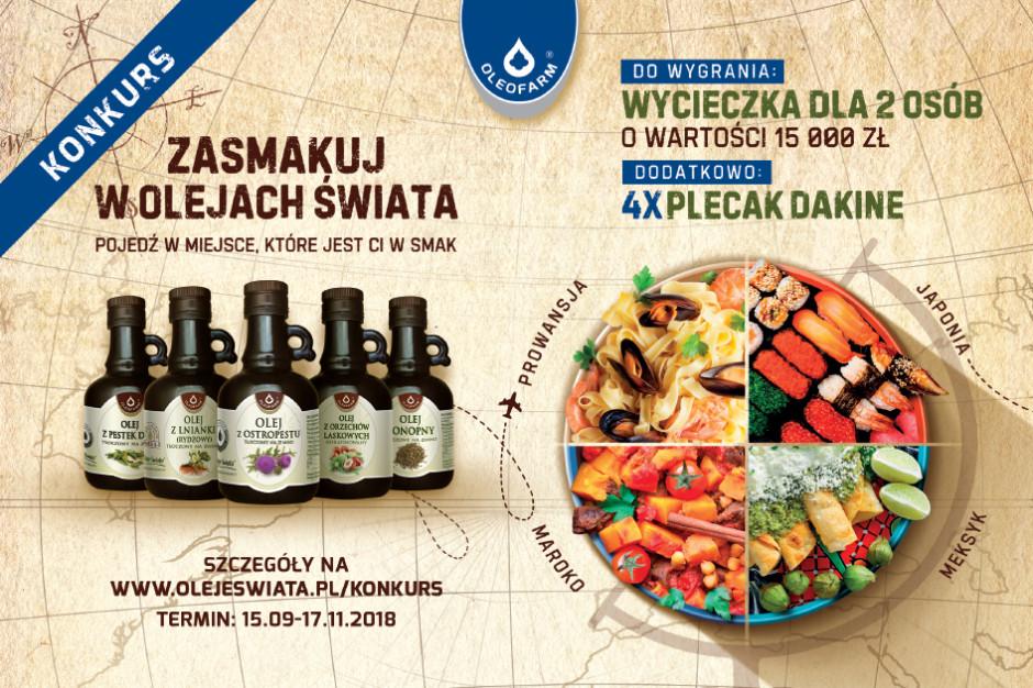 Startuje konkurs marki Oleje Świata