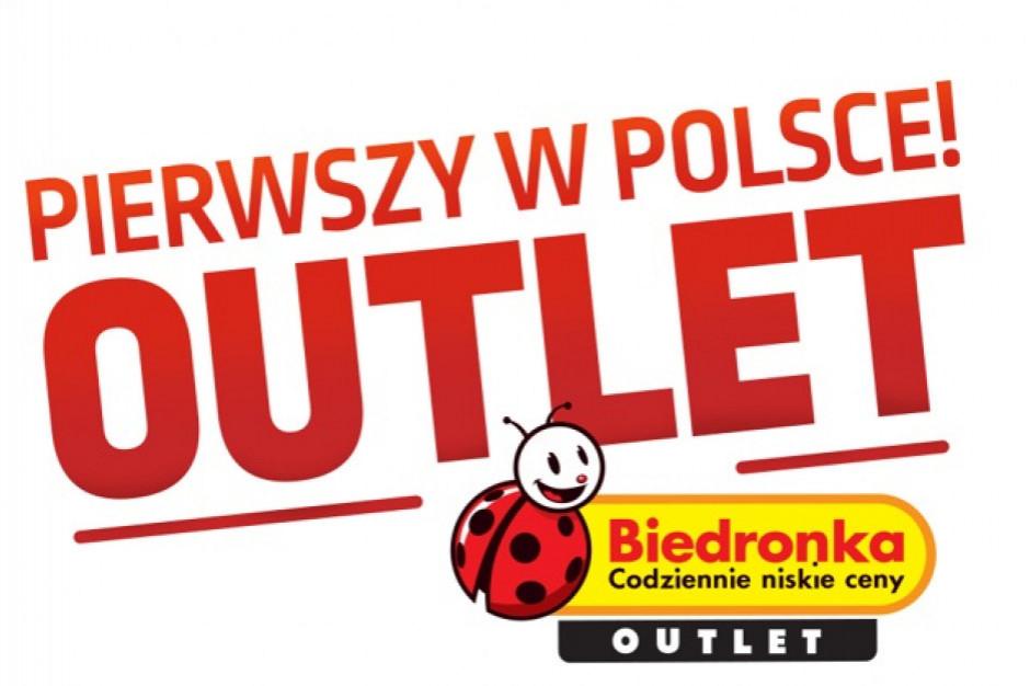 Średnia wartość zakupów w outlecie Biedronki to 60 zł