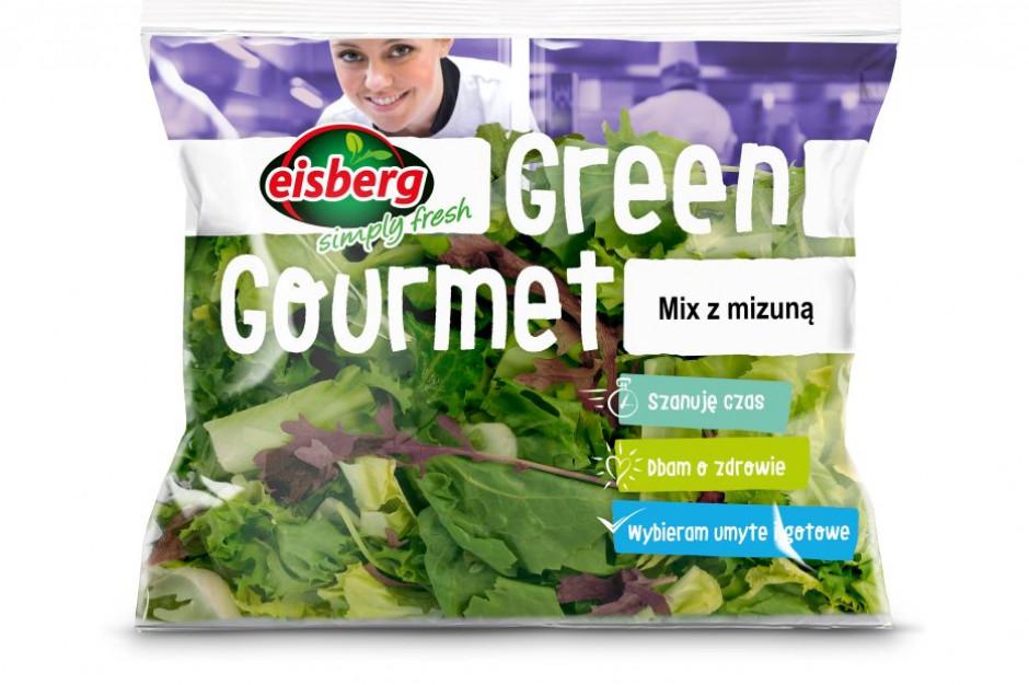 Mix sałat z mizuną od marki Eisberg