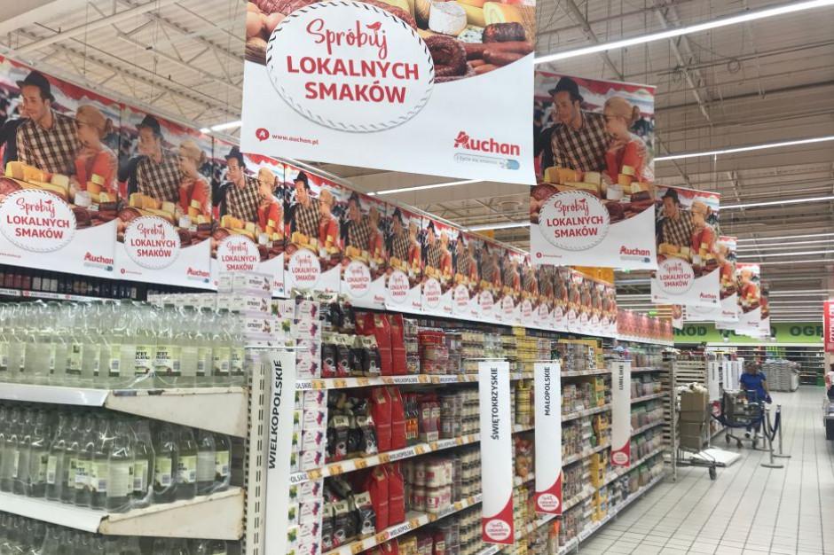 Auchan przyciąga do sklepów ofertą produktów regionalnych