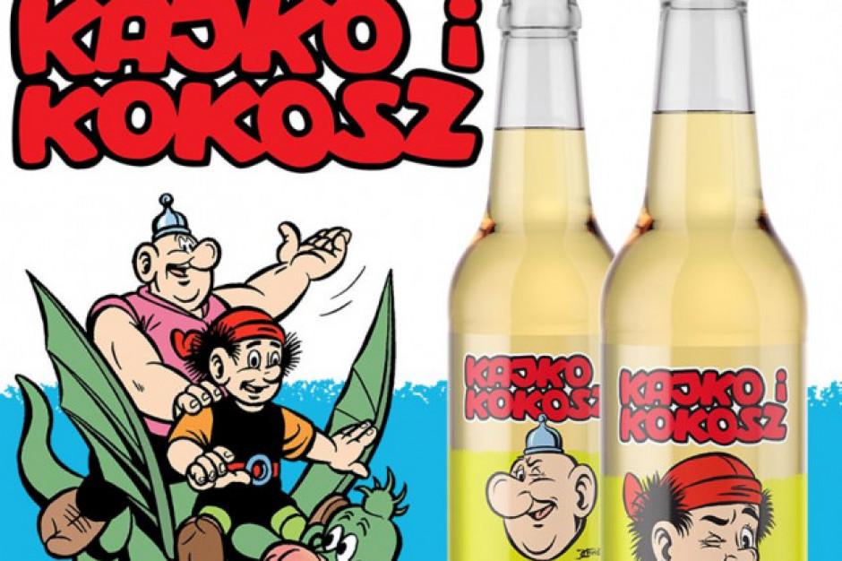 Browar Jan Olbracht stworzył napój dla fanów Kajko i Kokosza