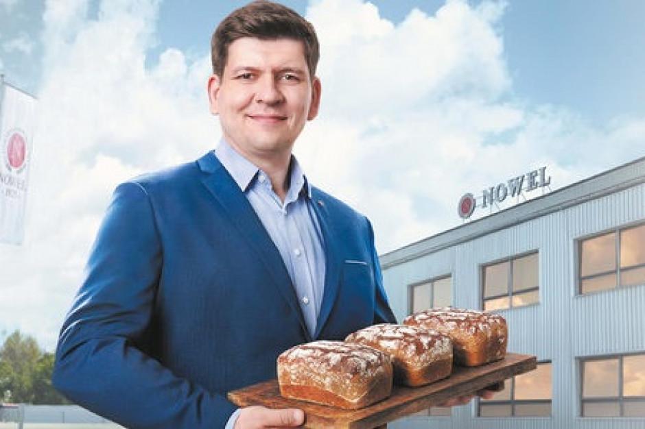 Wiceprezes piekarni Nowel ponownie w kampanii Lidla