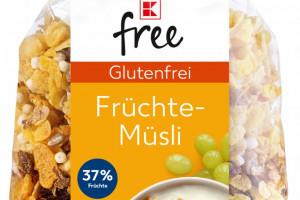 Kaufland oferuje produkty bezglutenowe i bez laktozy pod marką własną K-free