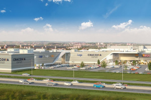 Centrum Cracovia Outlet powstaje na 15 hektarach
