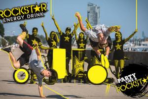 Rockstar Energy Drink promowany teledyskiem